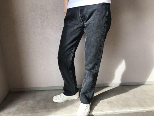 リーバイス501の着用画像