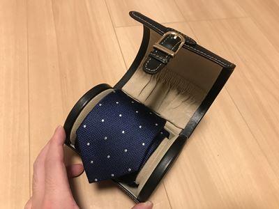 Studiolo ネクタイ×腕時計ケース
