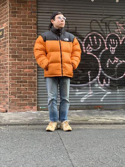 ノースフェイス 1996レトロ ヌプシジャケットの着用画像