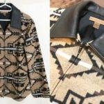 PENDLETON レザーカラージャケット レビュー!上質な天然皮革&100%ウール使用の渋めなライトアウター